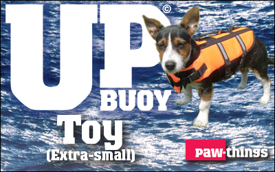 Toy size Up-buoy Classic life jacket.