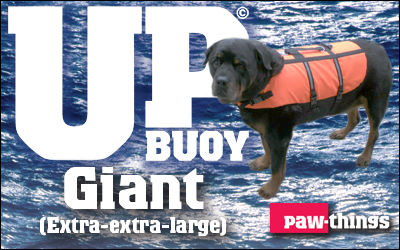 Giant size Up-buoy Classic life jacket.
